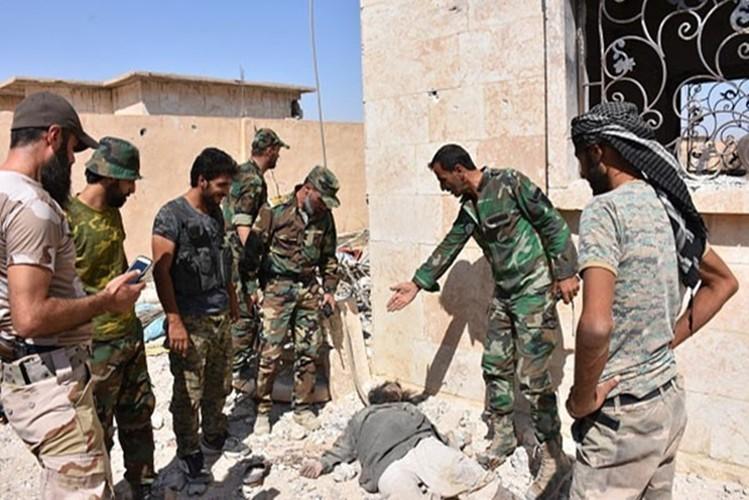 Hinh anh Quan doi Syria truy diet phien quan IS o Deir Ezzor-Hinh-9