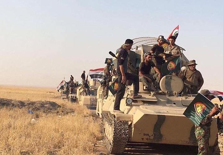 Chum anh Quan doi Iraq giai phong khu vuc Hawija-Hinh-2
