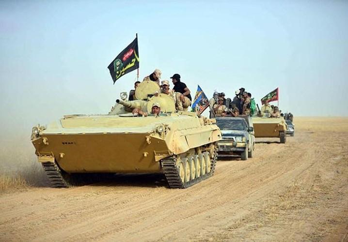 Chum anh Quan doi Iraq giai phong khu vuc Hawija-Hinh-9