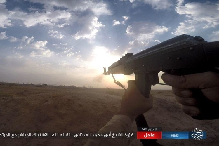 Quan doi Syria chao dao o phia tay Deir Ezzor-Hinh-7