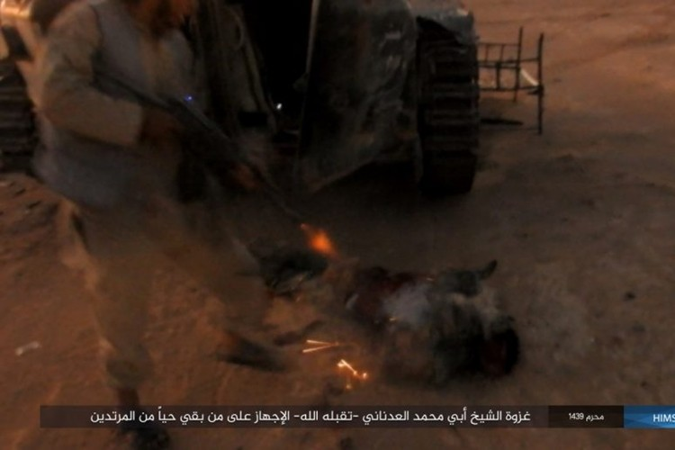 Quan doi Syria ton that nang tren duong cao toc Palmyra-Deir Ezzor-Hinh-9