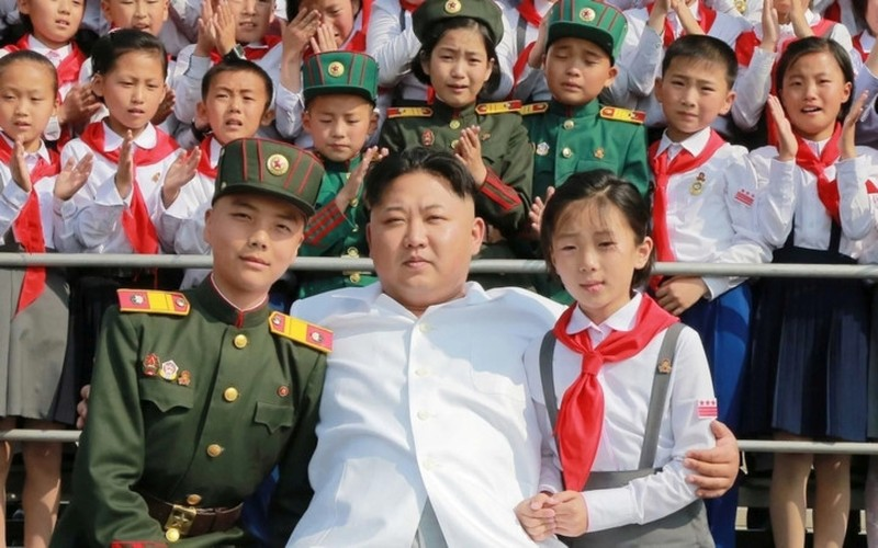Trieu Tien cong bo nhung hinh anh dep ve ong Kim Jong-un-Hinh-2