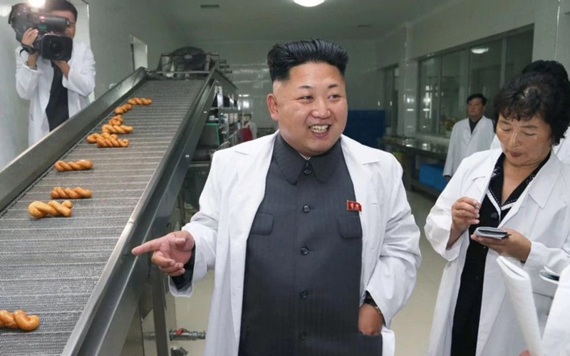 Trieu Tien cong bo nhung hinh anh dep ve ong Kim Jong-un-Hinh-7