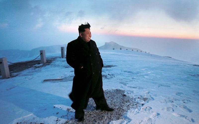 Trieu Tien cong bo nhung hinh anh dep ve ong Kim Jong-un
