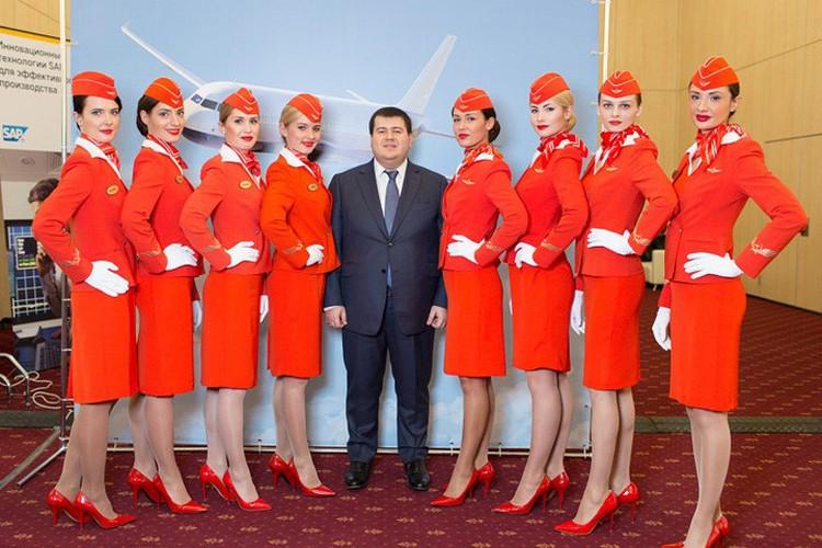 Anh: Cac nu tiep vien xinh dep Aeroflot-Hinh-4