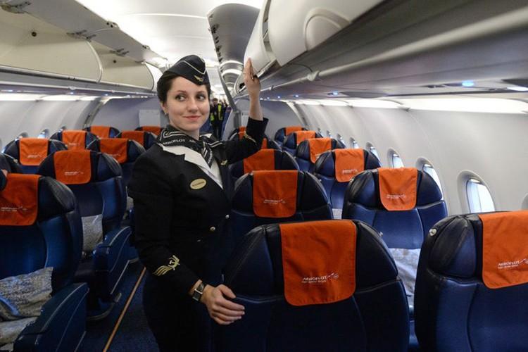 Anh: Cac nu tiep vien xinh dep Aeroflot-Hinh-5