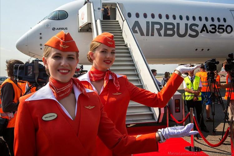Anh: Cac nu tiep vien xinh dep Aeroflot-Hinh-6