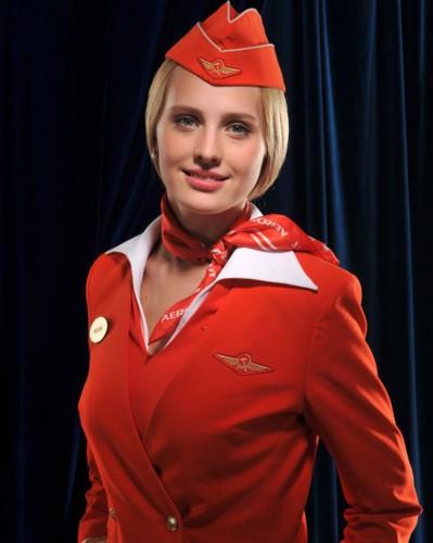 Anh: Cac nu tiep vien xinh dep Aeroflot-Hinh-7