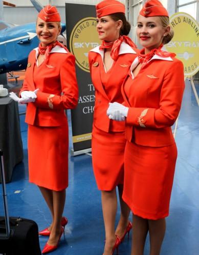 Anh: Cac nu tiep vien xinh dep Aeroflot-Hinh-9