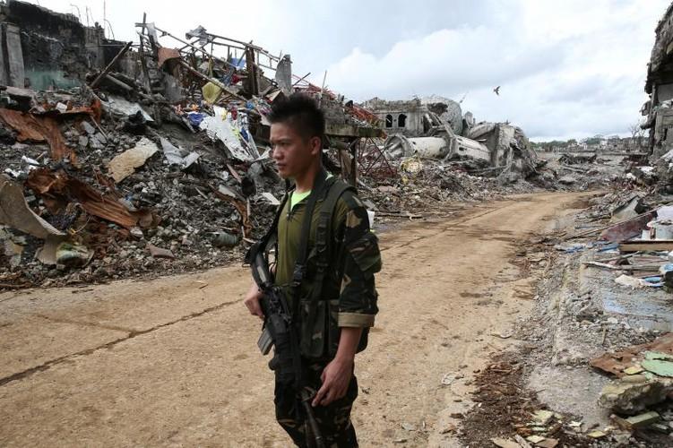 Anh: Thanh pho Marawi bi pha huy trong cuoc chien chong IS-Hinh-5