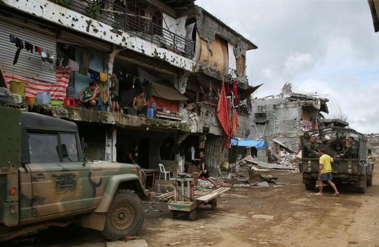Anh: Thanh pho Marawi bi pha huy trong cuoc chien chong IS-Hinh-9