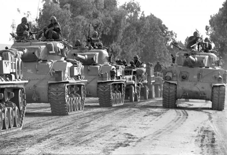 Anh: Cuoc chien khoc liet giua Israel va khoi Arab 50 nam truoc-Hinh-12