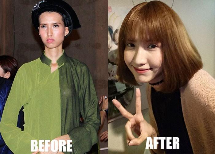 """Hang loat chan dai Next Top Model lot xac sau """"dao keo"""""""