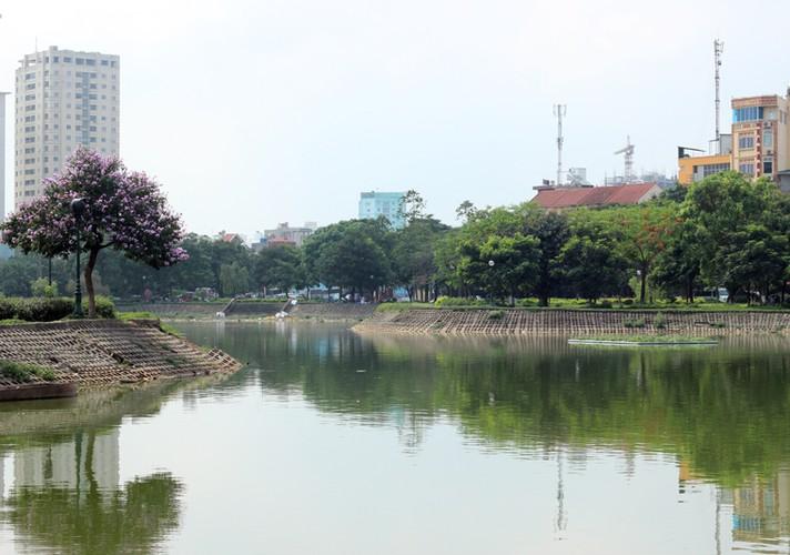 Anh: Kinh hoang canh bat huong va rac ban ngap ho Den Lu - Ha Noi