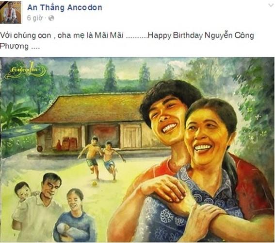 Sinh nhat Cong Phuong: Giua bon be ap luc