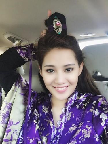 Hot girl Milan Pham bat ngo hoa Ly Mac Sau cuc xinh-Hinh-8