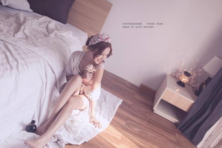 Hoa khoi cong so, Anna Trang Huynh xinh dep van nguoi me-Hinh-9