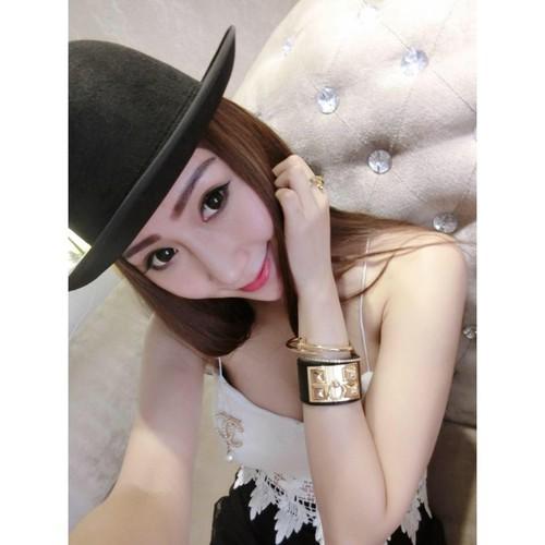 Co chu 9X Ha thanh xinh dep, goi cam nhu hot girl-Hinh-4