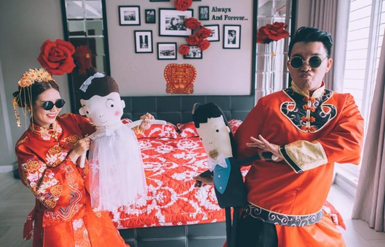 """Le an hoi """"vui no troi"""" cua nu stylist Sai thanh-Hinh-3"""