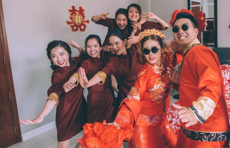 """Le an hoi """"vui no troi"""" cua nu stylist Sai thanh-Hinh-4"""