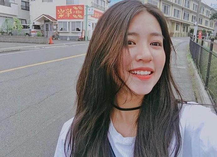 Hot girl Man Tien xinh ngo ngang sau khi du hoc Nhat-Hinh-2