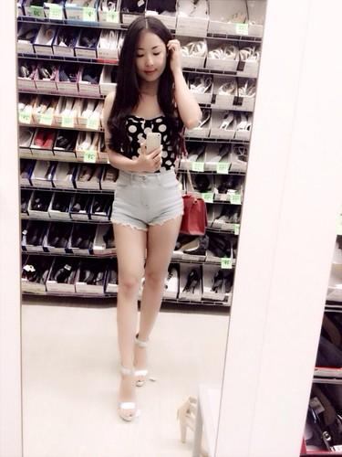 Nhan sac cuon hut cua hot girl Ninh Binh chan dai 1m1-Hinh-4