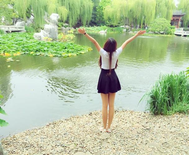 Nhan sac cuon hut cua hot girl Ninh Binh chan dai 1m1-Hinh-8