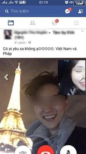 """Gai xinh khoe chuyen yeu len mang bi to """"song ao"""""""
