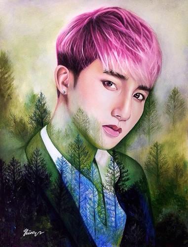 Hot boy xu Nghe len bao My nho tai ve tranh truyen than-Hinh-10