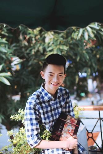 Hot boy xu Nghe len bao My nho tai ve tranh truyen than-Hinh-4