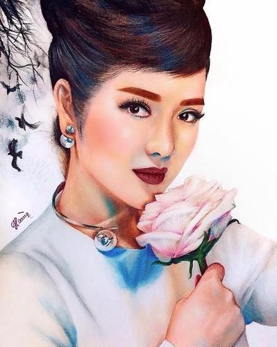 Hot boy xu Nghe len bao My nho tai ve tranh truyen than-Hinh-9