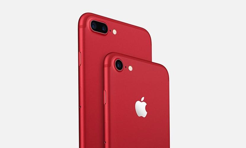 Con sot khoe do do an theo hieu ung iPhone 7 mau do