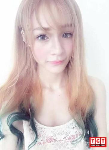 Hot girl Hai Phong xinh dep, mat lai Tay day cuon hut-Hinh-10