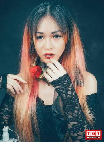 Hot girl Hai Phong xinh dep, mat lai Tay day cuon hut-Hinh-6