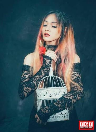 Hot girl Hai Phong xinh dep, mat lai Tay day cuon hut-Hinh-8