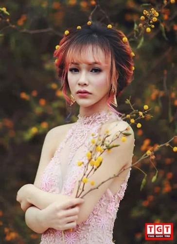 Hot girl Hai Phong xinh dep, mat lai Tay day cuon hut