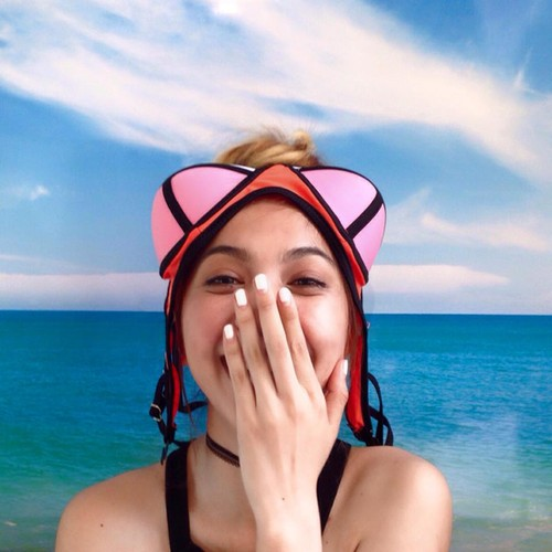 "Hoc lom cach selfie cua hot girl de co anh di bien ""chat""-Hinh-9"