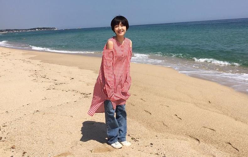 Hot girl Han Quoc co nu cuoi me hoac van chang trai-Hinh-8