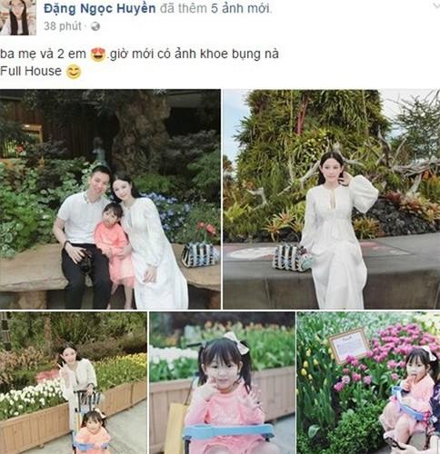 Hot girl Huyen Baby dang mang thai lan 2?
