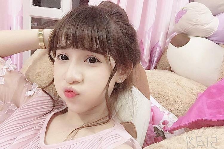 Nu sinh Su pham xinh dep thuong bi nham la con lai-Hinh-2