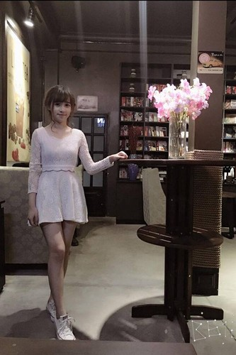 Nu sinh Su pham xinh dep thuong bi nham la con lai-Hinh-9