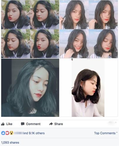 """Nu sinh 2001 xinh dep """"choi chang"""" tua nang mua he gay sot"""