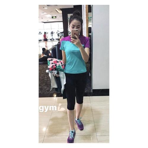 Co gai thoi tiet Mai Ngoc khoe hinh tap gym muot mat-Hinh-3