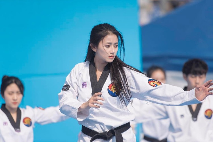 Nu than Taekwondo Han Quoc van nguoi me la ai?-Hinh-2