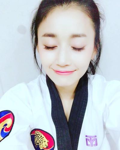 Nu than Taekwondo Han Quoc van nguoi me la ai?-Hinh-7