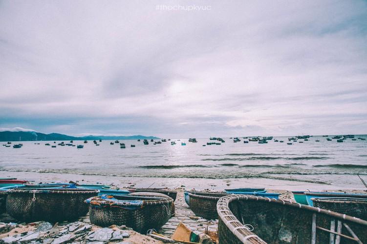 He ve Cu Lao Cau bat cua, ngam bien xanh trong vat-Hinh-2