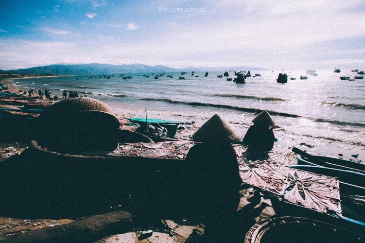 He ve Cu Lao Cau bat cua, ngam bien xanh trong vat-Hinh-4