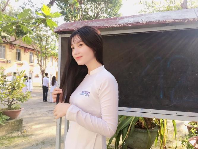 Nu sinh 10X Sai thanh cao 1m74, xinh nhu hoa hau-Hinh-4