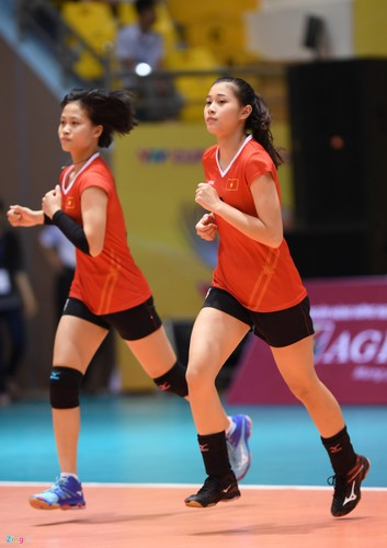 Ve dep cua dan Hoa khoi bong chuyen VTV Cup 2017