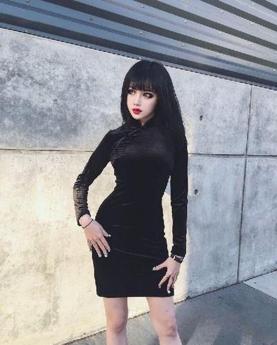 Khuon mat tua bup be chinh hieu cua hot girl Trung Quoc-Hinh-2